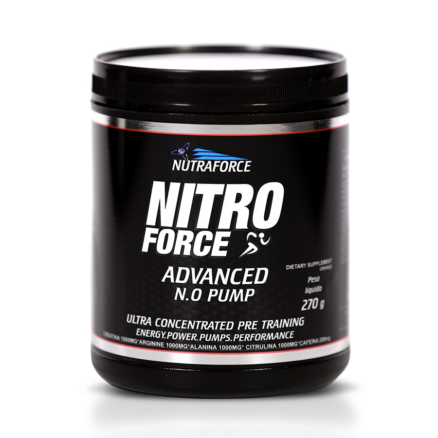 Nitro Force 270gr Advanced Pump - Nutraforce