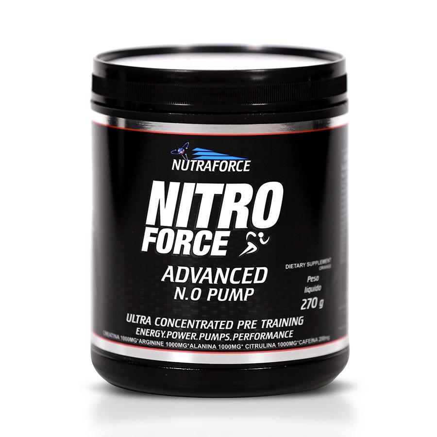 Nitro Force 270gr Advanced Pump - Nutraforce