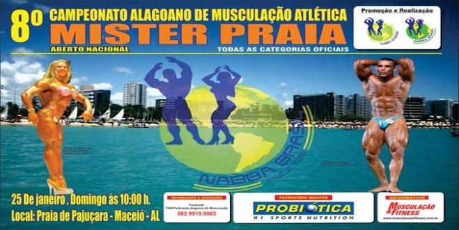 8º Campeonato Alagoano na Praia de Pajuçara