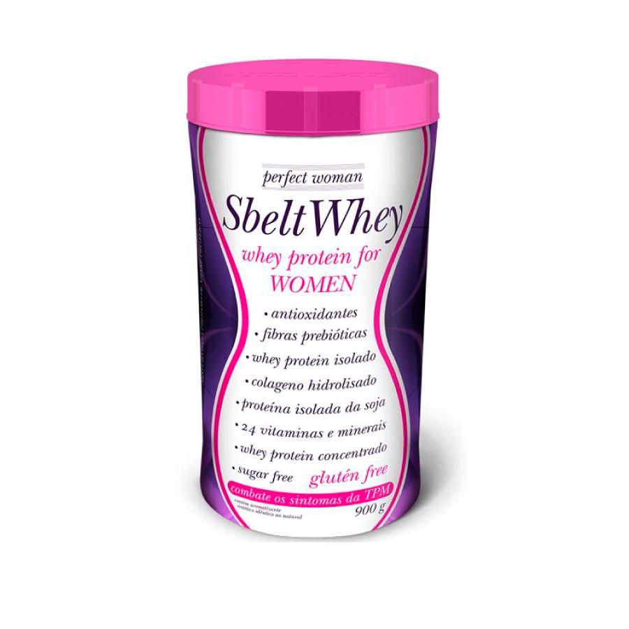 Sbelt Whey Perfect Woman 900g - New Millen
