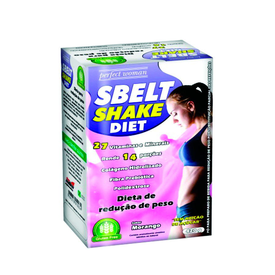 Sbelt Shake Diet 420g - New Millen