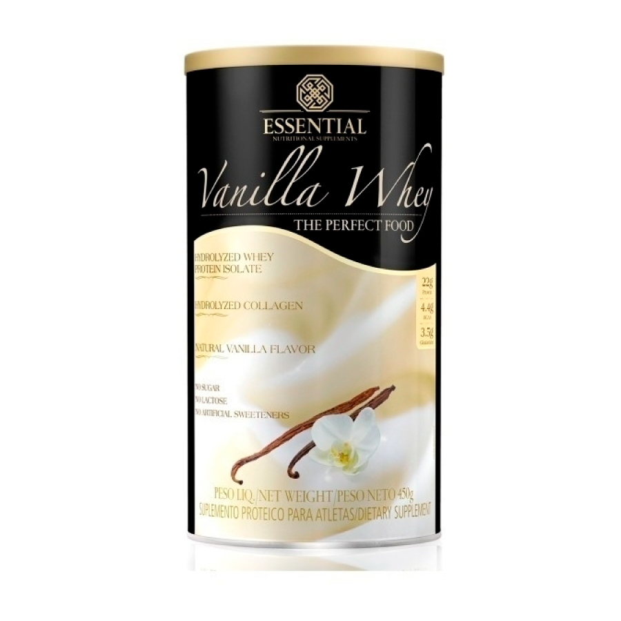 Vanilla Whey 450g - Essential Nutrition