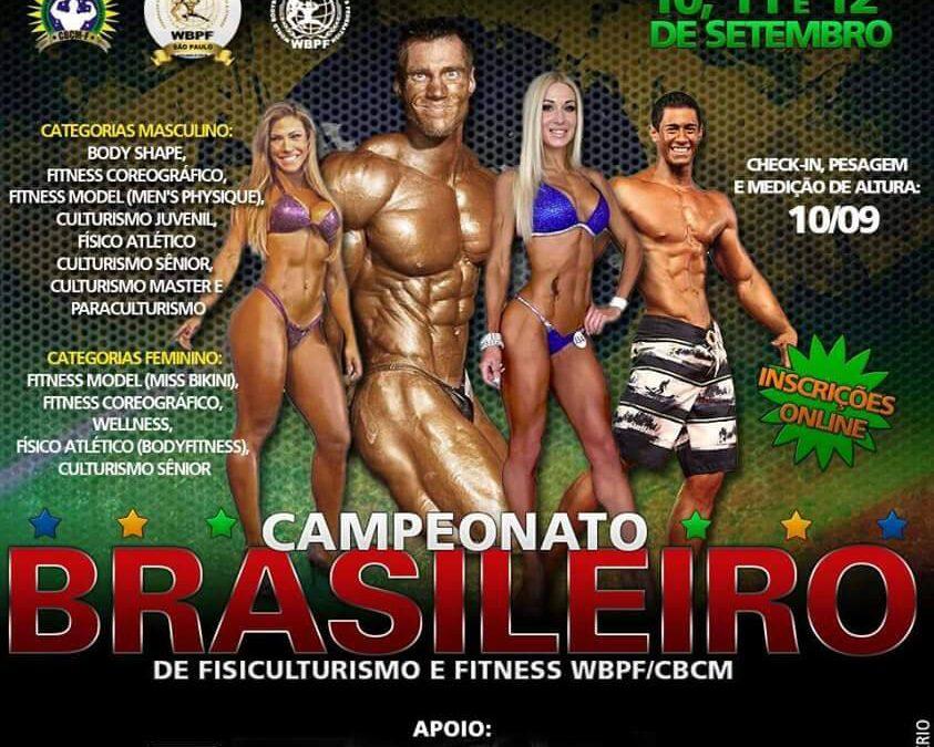 Campeonato Nacional de fisiculturismo e fitness WBPF 2015