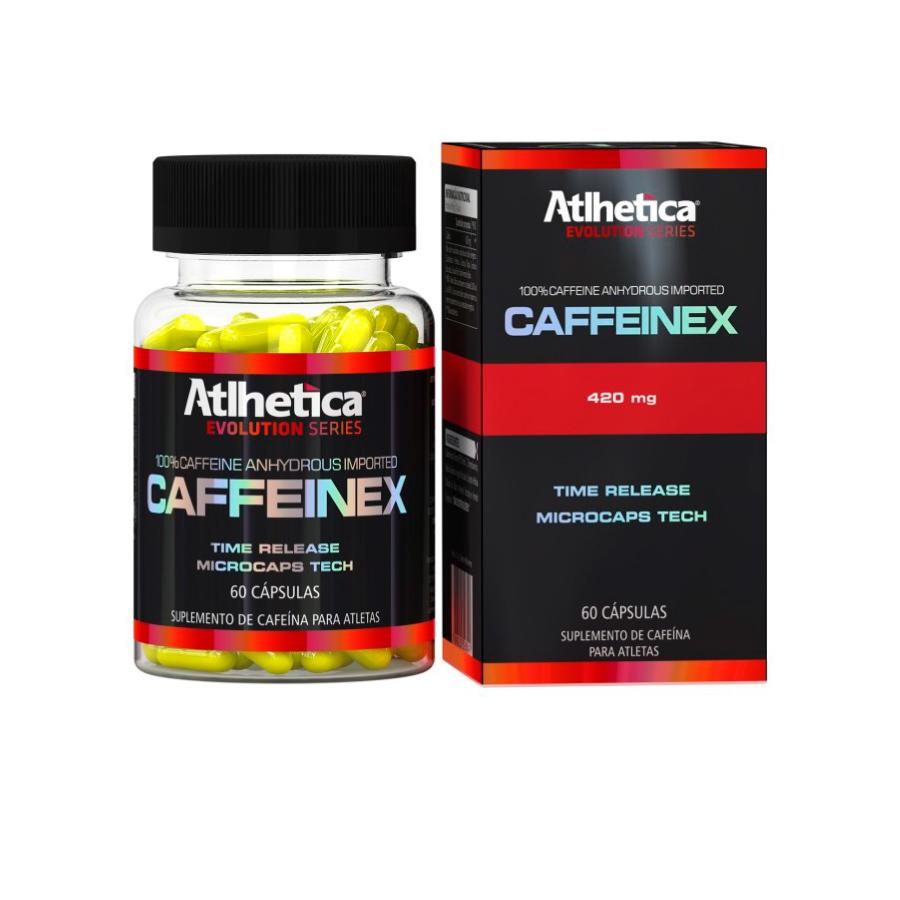 Caffeinex 60 cápsulas - Atlhetica Nutrition