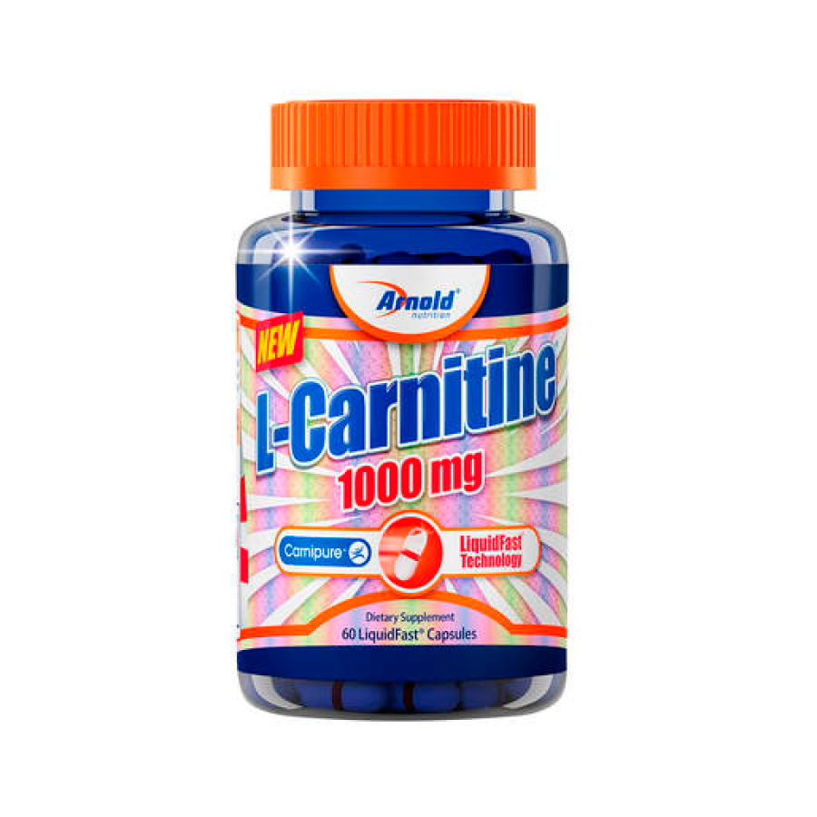 L-Carnitine 1000mg - 60 cápsulas - Arnold Nutrition