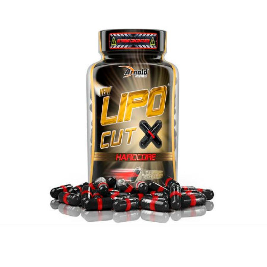 Lipo Cut X Hardcore 60 cápsulas - Arnold Nutrition