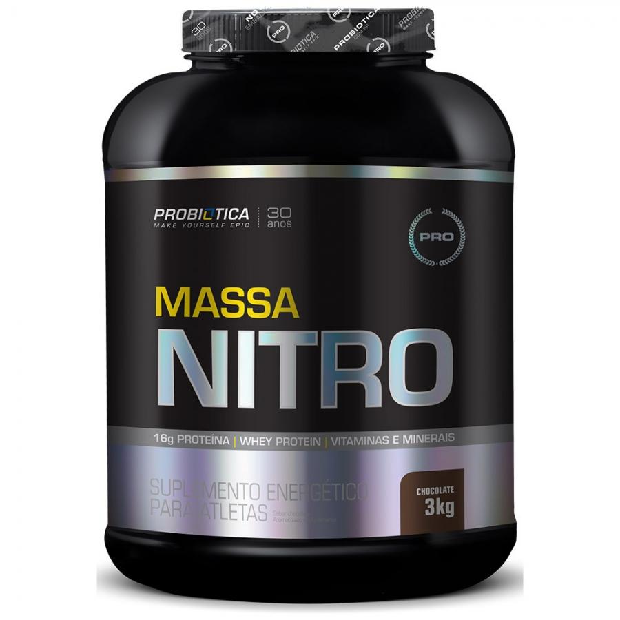 Massa Nitro 3Kg- Probiótica