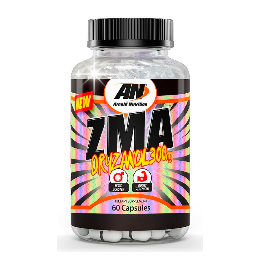 ZMA Oryzanol 60 cápsulas - Arnold Nutrition