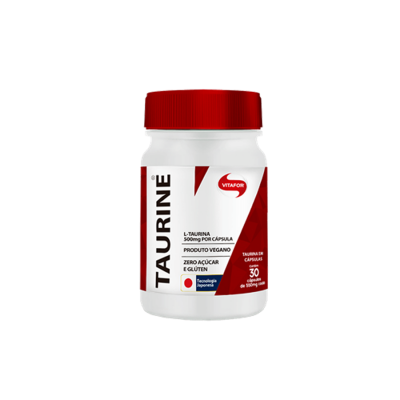 Taurina 30 cápsulas Vitafor