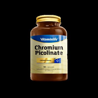 Chromium Picolinate 90 cápsulas Vitaminlife