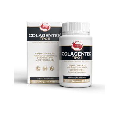 Colagentek Tipo II 60 capsulas - Vitafor