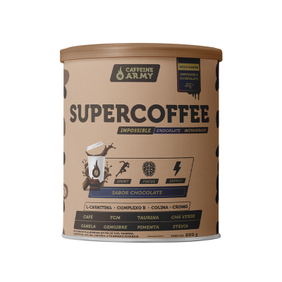 Supercoffe Chocolate 220g - Caffeine Army