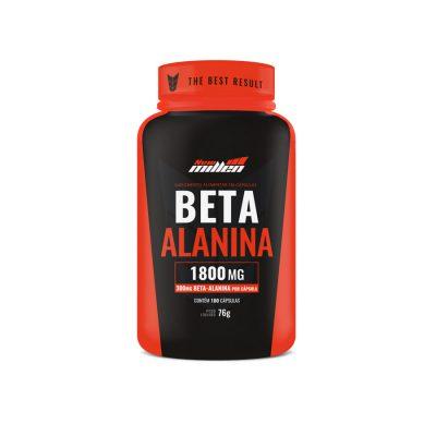 Beta alanina 180 cápsulas new millen